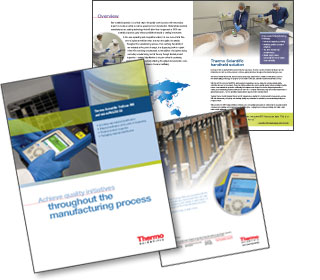 8 page product brochure